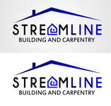 STREAMLINE building & carpentry Logo - Entry #100