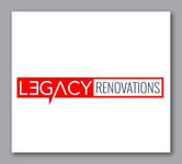 LEGACY RENOVATIONS Logo - Entry #80