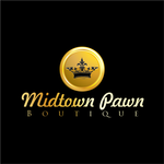 Either Midtown Pawn Boutique or just Pawn Boutique Logo - Entry #97