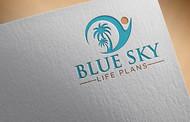 Blue Sky Life Plans Logo - Entry #205