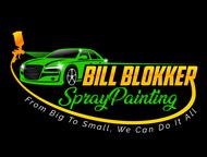 Bill Blokker Spraypainting Logo - Entry #11