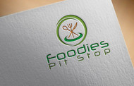 Foodies Pit Stop Logo - Entry #8