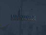 Law Offices of David R. Monarch Logo - Entry #203