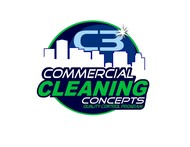 Commercial Cleaning Concepts Logo - Entry #28