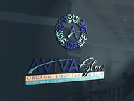 AVIVA Glow - Organic Spray Tan & Lash Logo - Entry #82