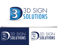 3D Sign Solutions Logo - Entry #191
