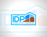 IVESTER DRYWALL & PAINTING, INC. Logo - Entry #19
