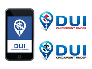 DUI Checkpoint Finder Logo - Entry #20