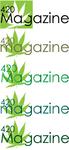 420 Magazine Logo Contest - Entry #70