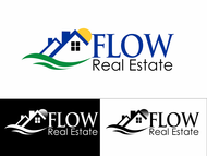 Flow Real Estate Logo - Entry #55