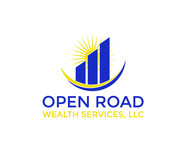 "Open Road Wealth Services, LLC  (The ""LLC"" can be dropped for design purposes.) Logo - Entry #29"