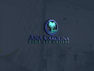 Ana Carolina Fine Art Gallery Logo - Entry #251