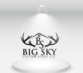 Big Sky Custom Steel LLC Logo - Entry #17