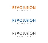 Revolution Roofing Logo - Entry #13