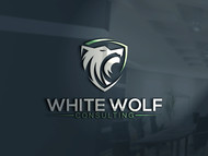 White Wolf Consulting (optional LLC) Logo - Entry #227