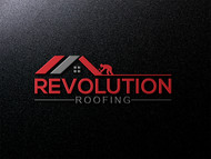 Revolution Roofing Logo - Entry #274
