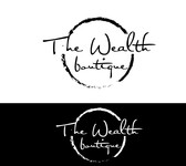 the wealth boutique Logo - Entry #42