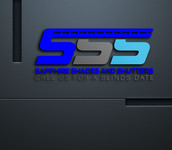 Sapphire Shades and Shutters Logo - Entry #70