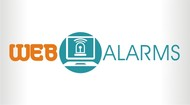 Logo for WebAlarms - Alert services on the web - Entry #188