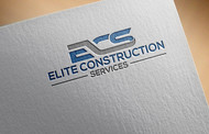 Elite Construction Services or ECS Logo - Entry #319