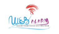 Logo for WebAlarms - Alert services on the web - Entry #74