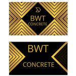 BWT Concrete Logo - Entry #486