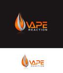 Vape Reaction Logo - Entry #33