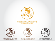 Golden Oak Wealth Management Logo - Entry #46