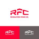 Revolution Fence Co. Logo - Entry #213