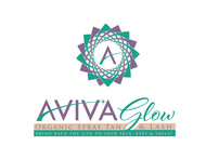 AVIVA Glow - Organic Spray Tan & Lash Logo - Entry #29