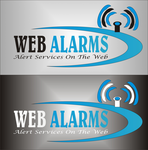 Logo for WebAlarms - Alert services on the web - Entry #35