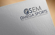 Omega Sports and Entertainment Management (OSEM) Logo - Entry #74