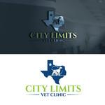 City Limits Vet Clinic Logo - Entry #305