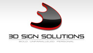 3D Sign Solutions Logo - Entry #184