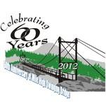 60th Anniversary of Mile High Swinging Bridge Logo - Entry #10