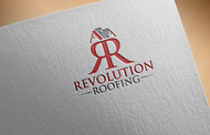Revolution Roofing Logo - Entry #403