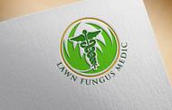 Lawn Fungus Medic Logo - Entry #22