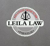 Leila Law Logo - Entry #107