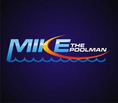 Mike the Poolman  Logo - Entry #88