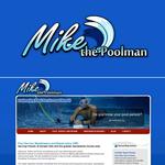 Mike the Poolman  Logo - Entry #29
