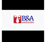 B&A Uniforms Logo - Entry #108