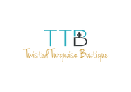 Twisted Turquoise Boutique Logo - Entry #22