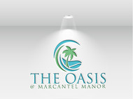 The Oasis @ Marcantel Manor Logo - Entry #98