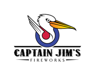 Captain Jim's Fireworks Logo - Entry #6