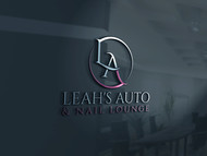 Leah's auto & nail lounge Logo - Entry #71