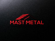 Mast Metal Roofing Logo - Entry #186