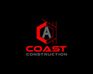CA Coast Construction Logo - Entry #3