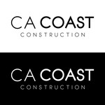 CA Coast Construction Logo - Entry #290