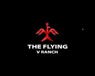 The Flying V Ranch Logo - Entry #32