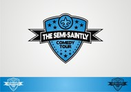 The Semi-Saintly Comedy Tour Logo - Entry #29